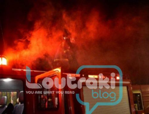 Φωτιά σε εγκαταλελειμμένη μονοκατοικία στην Κόρινθο