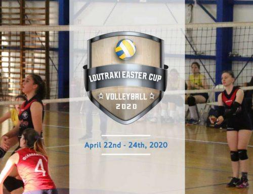 Loutraki Easter Volleyball Cup 2020, ένα μοναδικό τουρνουά για ομάδες Κ16 και Κ18 στο SPORTCAMP