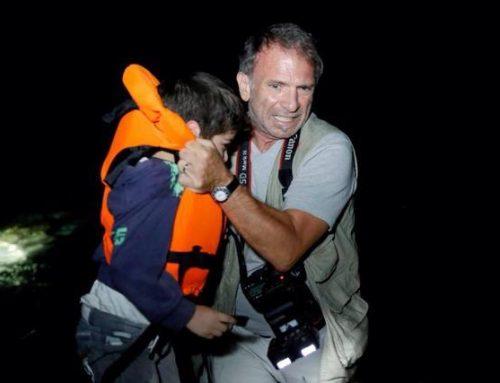 Οταν ο φωτορεπόρτερ Γιάννης Μπεχράκης, έπιανε τον σταυρό