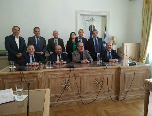Υπογραφή επιχειρησιακής σύμβασης ΕΦΕΠΑΕ με την Περιφέρεια Πελοποννήσου