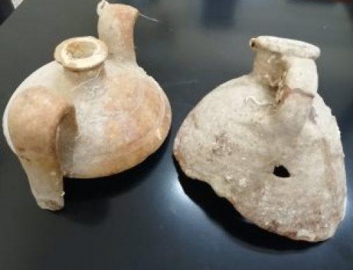 Συνελήφθησαν δύο άτομαγια κατοχή αρχαίων αντικειμένωνστη Λακωνία