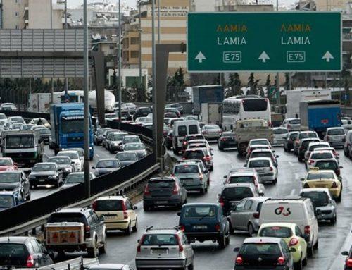 Τροχαίο στον Κηφισό – Ακινητοποιημένα τα αυτοκίνητα