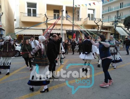 Λουτράκι:Ο ΙΒΥΚΟΣ αναβιώνει και φέτος το Χορό της Τράτας την Καθαρά Δευτέρα (video-pics) (
