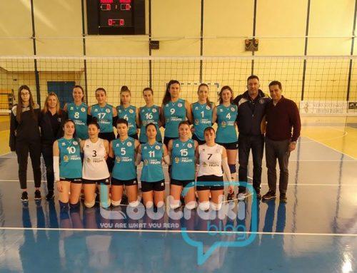 Volley Γυναικών:Aγώνας διαφήμιση του αθλήματος στο Λουτράκι (video-φωτο)
