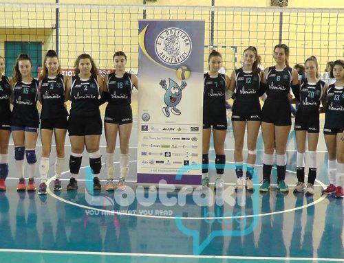 Volley:Πεισματάρες οι μικρές του Ποσειδώνα Λουτρακίου