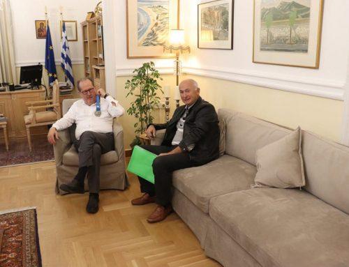 Συνάντηση με τον πρόεδρο του ΣΕΓΑΣ θα έχει ο περιφερειάρχης Π. Νίκας