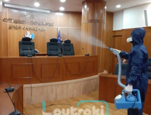 Mε εντατικούς ρυθμούς συνεχίζονται οι απολυμάνσεις στο δήμο Λουτρακίου-Π-Αγ.Θεοδώρων
