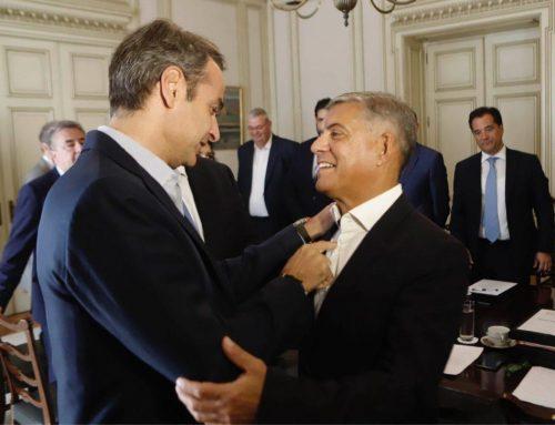 Κορονοϊός- Συγχαρητήρια Μητσοτάκη στον περιφερειάρχη Θεσσαλίας για το σύστημα τηλεϊατρικής