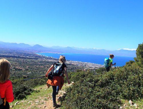 Πεζοπορική διαδρομή  με τον Ορειβατικό Σύλλογο Λουτρακίου