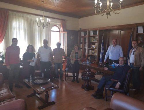 Σύσκεψη για το νέο Διοικητήριο της Περιφερειακής Ενότητας
