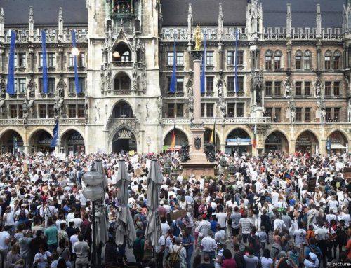 """Κορωνοϊός: Οι νέοι """"αγανακτισμένοι"""" Γερμανοί"""