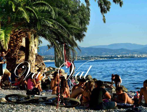 Όμορφες εικόνες με τους πρώτους τουρίστες του Λουτρακίου