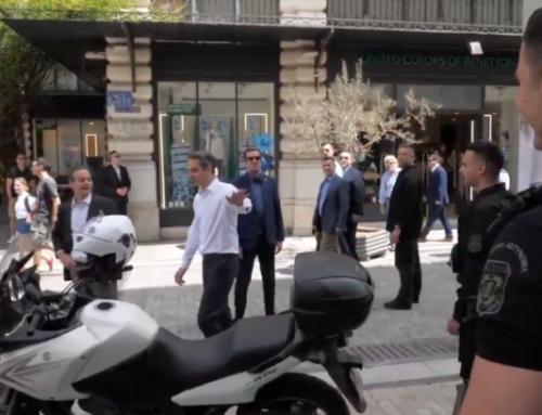 Απίστευτη αντίδραση του πρωθυπουργού όταν είδε τον αστυνομικό της ΔΙΑΣ  (Video)