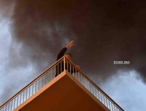 Ναύπλιο: Πυρκαγιά σε πολυκατοικία (video)