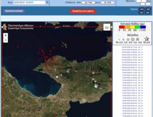 Λουτράκι: 95 σεισμικές δονήσεις σε ένα μήνα ! (εικόνες)