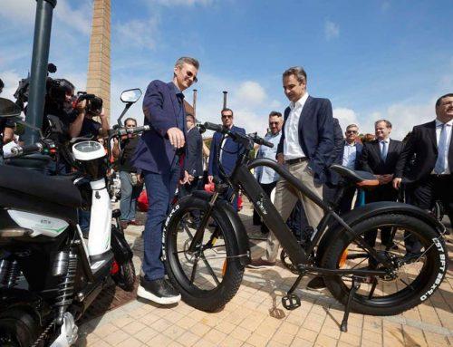 Ηλεκτροκίνηση: Aναφορά στη Μεγαλόπολη από τον Πρωθυπουργό (εικόνες)