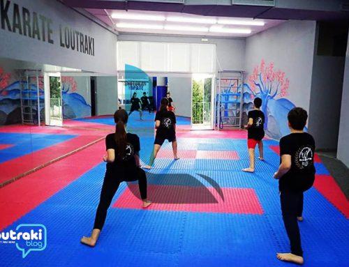 Α.Ο.Shotokan Karate Λουτρακίου: Συνεχίζονται οι προπονήσεις !