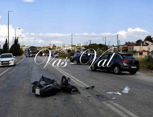 Σοβαρό τροχαίο στην Κόρινθο με ένα βαριά τραυματία