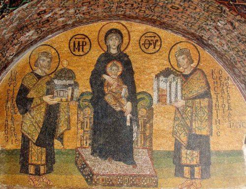 """Η Ιουστινιάνεια Αγία Σοφία & ο """"Μαρμαρωμένος Κυβερνήτης"""" – Από τον Απ. Παπαφωτίου"""
