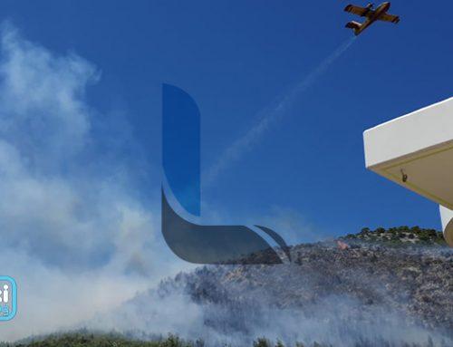 Λουτράκι: Σε συναγερμό η Πυροσβεστική στην Περαχώρα. Σηκώθηκαν αεροπλάνα (εικόνες-video)