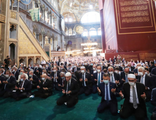 Αγία Σοφία: Ιστορική Βεβήλωση και παγκόσμια κατακραυγή για το προσβλητικό σόου Ερντογάν