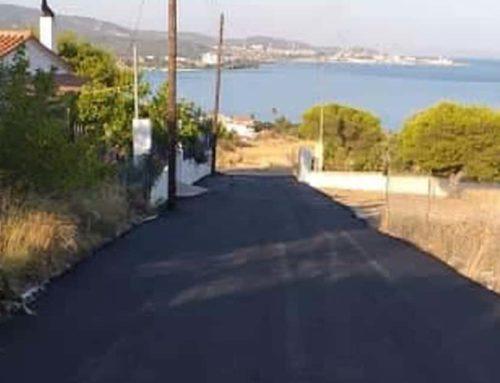 Γέμισαν με άσφαλτο οι δρόμοι των Ισθμίων – Οι νέες οδοί που ασφαλτοστρώθηκαν