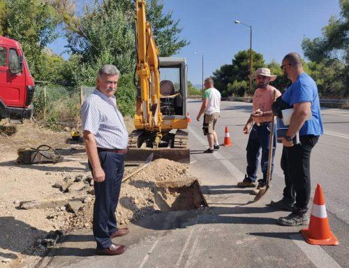 Με έξοδα εργολάβου θα αποκατασταθεί το δίκτυο ύδρευσης Σαρωνικού και Σολυγείας