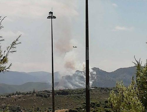 Εκτακτο: Εκκενώνεται η κατασκήνωση λόγω της φωτιάς στις Κεχριές