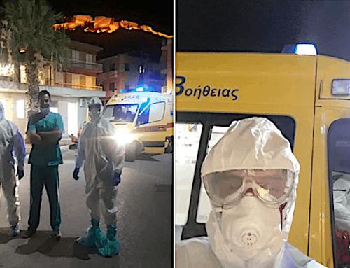 """Από εξωτερικό το νέο κρούσμα στο Ναύπλιο – Μεταφέρθηκε στο """"Σωτηρία"""""""