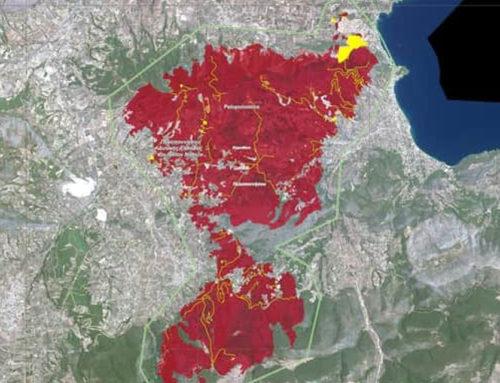 Περίπου 3 εκατ. χρειάζονται για έργα αποκατάστασης και προστασίας για την πυρόπληκτη Κορινθία