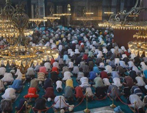 ΑΓΙΑ ΣΟΦΙΑ: Η «κατάρα» του ναού – 3000 Τούρκοι κόλλησαν κορωνοϊό στην πρώτη προσευχή