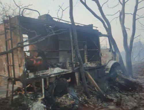 Ο απολογισμός της πυρκαγιάς στις Κεχριές και η έκθεση προς τα Υπουργεία