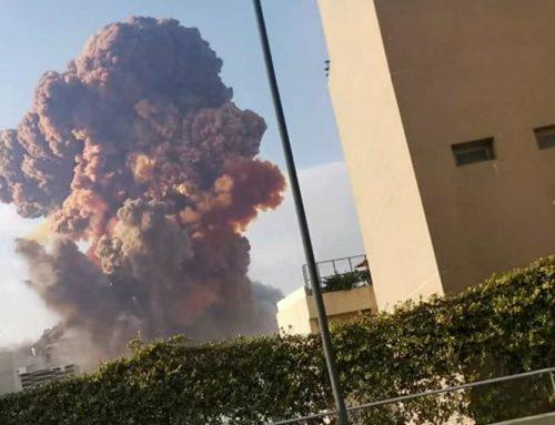 Μεγάλη έκρηξη στη Βηρυτό – Δεκάδες οι τραυματίες