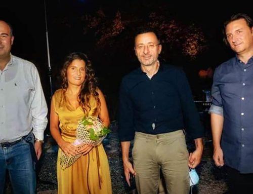 Στην εκδήλωση 'Η Μπέττυ Χαρλαύτη στον κόσμο του Μίκη Θεοδωράκη' παρευρέθηκε ο Τ. Γκιολής