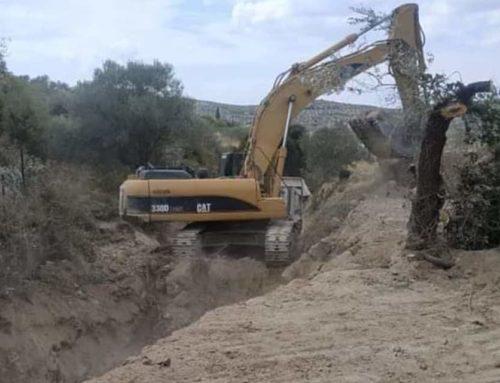 Πάνω από 70 μηχανήματα χρησιμοποιούνται σε εργασίες επεμβάσεων για τον κυκλώνα Ιανό στην Κορινθία