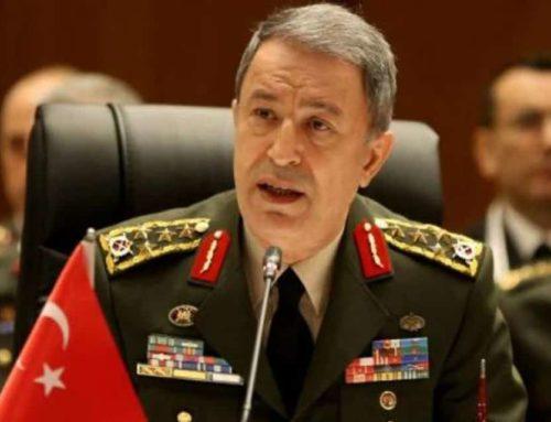 """'Οι Έλληνες να σωπάσουν για να μην γίνουν… """"μεζές""""!' δήλωσε ο Τούρκος υπουργός Άμυνας"""