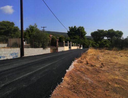 Έργα ασφαλτοστρώσεων σε οικισμούς στην Κοινότητα Αγίων Θεοδώρων