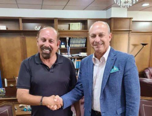 Συνάντηση του Δημάρχου Γιώργου Γκιώνη με τον επενδυτή Meni Weitzman