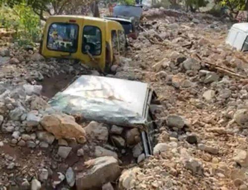 Πέτρες και λάσπη έθαψαν το χωριό Άσσος στην Κεφαλονιά