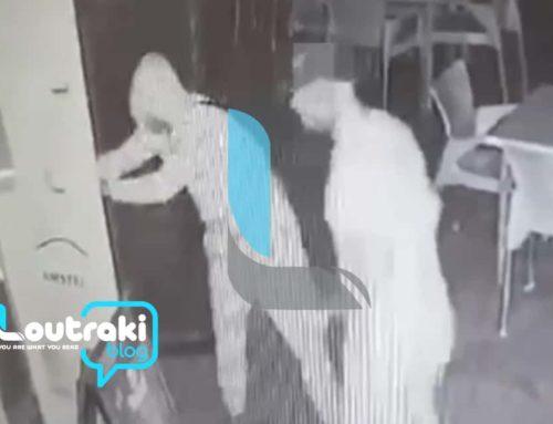 """Λουτράκι: Θρασύτατοι κλέφτες """"βούτηξαν"""" όλες τις μπύρες από πιτσαρία και προσπάθησαν να τις πουλήσουν (video)"""