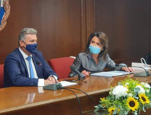 Κόρινθος: Τη Γιάννα Αγγελοπούλου υποδέχθηκε ο Βασίλης Νανόπουλος (εικόνες)