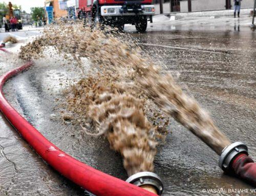 942 απεγκλωβισμοί – διασώσεις από την Πυροσβεστική Υπηρεσία μέχρι τώρα, λόγω εκδήλωσης πλημμυρικών φαινομένων
