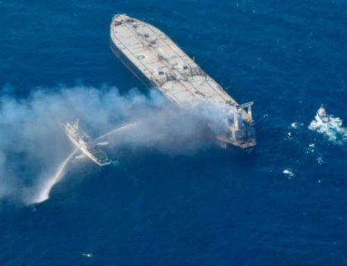 Έσβησε φωτιά σε δεξαμενόπλοιο με 23 άτομα πλήρωμα – Οι πέντε είναι Ελληνες