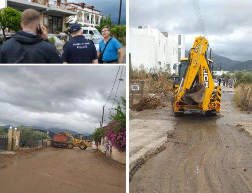 Δήμος Κορινθίων Σε προτεραιότητα η κατασκευή του δικτύου ομβρίων στα Λουτρά Ωραίας Ελένης – Συνεχίζονται οι παρεμβάσεις αποκατάστασης