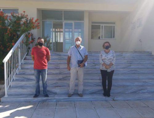 Επίσκεψη της Μαριλένας Σούκουλη-Βιλιάλη στο Κονιάρειο Ινστιτούτο Εσπεριδοειδών Κορινθίας