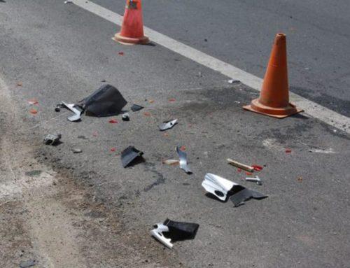 Ξυλόκαστρο: Σφοδρή σύγκρουση αυτοκινήτων – Δύο τραυματίες, ο ένας πολύ σοβαρά