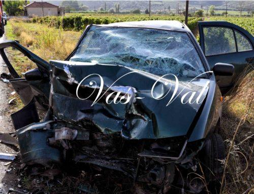 Κορινθία: Σοβαρό τροχαίο με ένα νεκρό και 10 τραυματίες στη Νεμέα (φωτο)