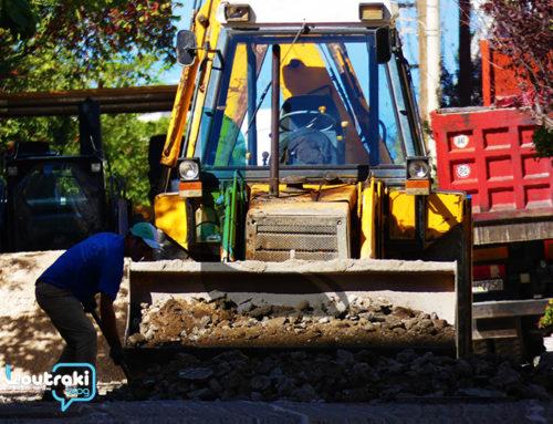 Εργα οδοποιΐας στην πόλη της Κορίνθου (φωτο)