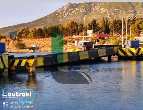 """""""Κόλλησε"""" η βυθιζόμενη γέφυρα της Ποσειδωνίας (φωτο)"""