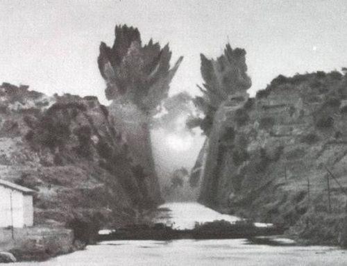 1944: Η ανατίναξη του Ισθμού Κορίνθου από τους Γερμανούς (video)